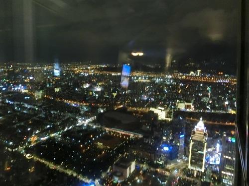 台北101 展望台からの夜景